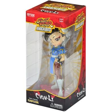 Action Figure Street Fighter Knock-Outs, Chun-Li
