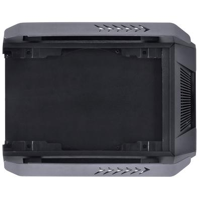 Gabinete Gamer PCYes Alpha, ATX, Micro ATX, Mini ITX, RGB, com FAN, Laterais em Vidro - ALPTRGB2FCV