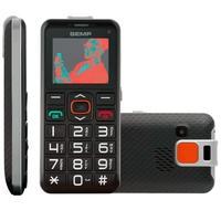 Celular Semp Go!1e, Tela 1.8´, 0.3MP, Lanterna, Botão SOS, Bluetooth, Preto - GO1E-PTOP