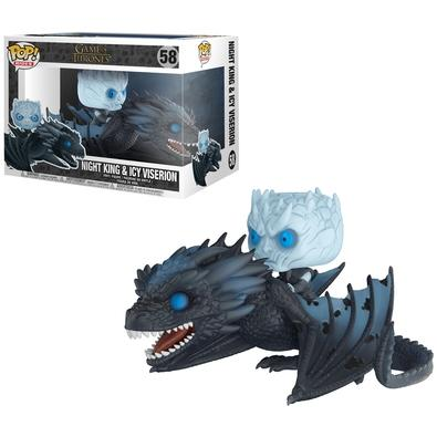 Funko POP! Night King & Icy Viserion, Game Of Thrones - 28671
