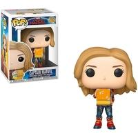 Funko POP! Captain Marvel w/ Lunch Box, Marvel: Captain Marvel - 37685