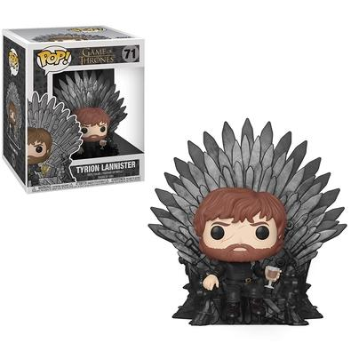 Funko POP! Tyrion Lannister Sitting On Iron Throne, Game Of Thrones S10 Deluxe - 37404