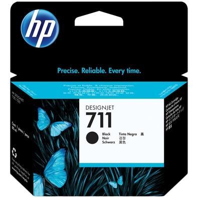 Cartucho de Tinta HP 711, Preto - CZ129AB