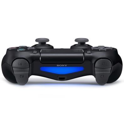 Controle Sony Dualshock 4, PS4, Sem Fio, Preto + Voucher Fortnite - CUH-ZCT2U