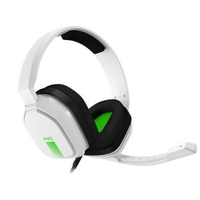 Headset ASTRO Gaming A10 para Xbox, PlayStation, PC, Mac - Branco/Verde - 939-001854
