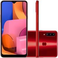 Smartphone Samsung Galaxy A20s, 32GB, 13MP, Tela 6.5´, Vermelho - SM-A207MZRDZTO