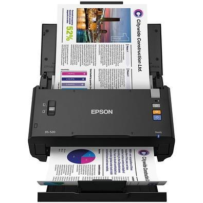 Scanner de Mesa Epson WorkForce DS-520, Colorido, Duplex - DS-520