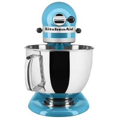 Batedeira Planetária KitchenAid Stand Mixer Artisan, 4.8L, 10 Velocidades, Crystal Blue, 110V - KEA33CWANA