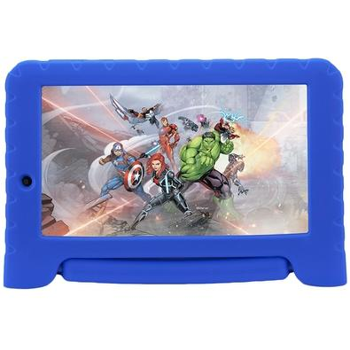 Tablet Multilaser Disney Vingadores Plus, Bluetooth, Android 8.1, 16GB, Tela de 7´ - NB307