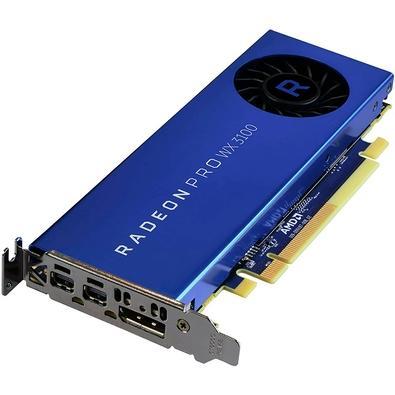 Placa de Vídeo AMD Radeon Pro WX 3100, 4GB, GDDR5 - 100-505999