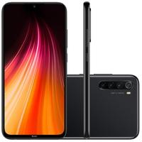 Smartphone Xiaomi Redmi Note 8, 128GB, 48MP, Tela 6.3´, Preto + Capa Protetora - CX287PRE
