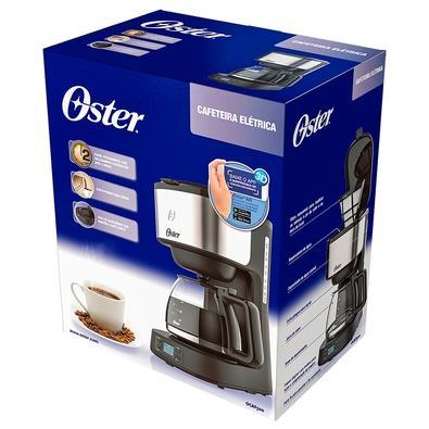 Cafeteira Digital Oster, 30 Cafés, 800W, 110V - OCAF500-127