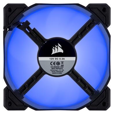 Kit com 3 Cooler FAN Corsair AF120, 120mm, LED, Azul - CO-9050084-WW