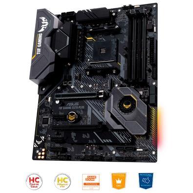 Placa-Mãe Asus TUF Gaming X570-PLUS/BR,  AMD AM4, ATX, DDR4