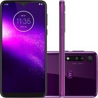 Smartphone Motorola Moto One Macro, 64GB, 13MP, Tela 6.2´, Ultra Violet + Capa Protetora - PAGT0007BR