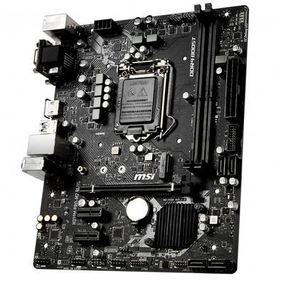Placa-Mãe MSI H310M Pro-M2 Plus p/ Intel LGA 1151, m-ATX, DDR4