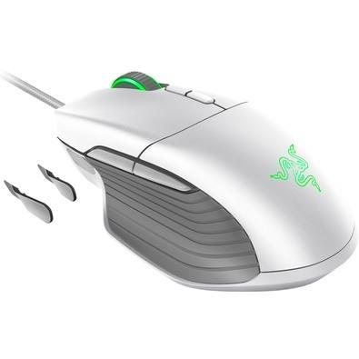Mouse Gamer Razer Basilisk, Chroma, 8 Botões, 16000DPI, Mercury White - RZ01-02330300-R3M1