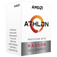 Processador AMD Athlon 3000G Two Core, Cache 5MB, 3500MHz, AM4 - YD3000C6FHBOX