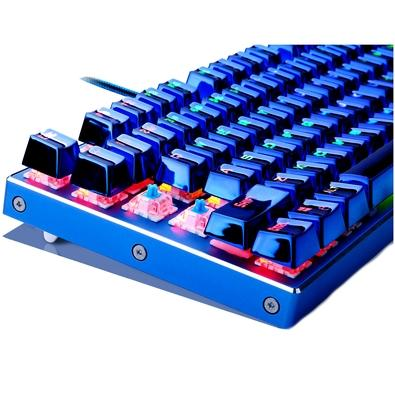 Teclado Mecânico Gamer Redragon Tvastar, RGB, Switch Redragon Blue, ANSI - K566B-RGB