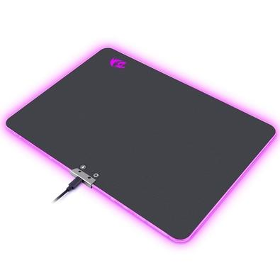 Mousepad Gamer Redragon Aurora P010, RGB, Speed, Grande (350x250mm) - P010