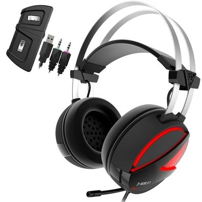 Headset Gamer Gamdias Hebe E1, RGB, Drivers 40mm - HEBE E1