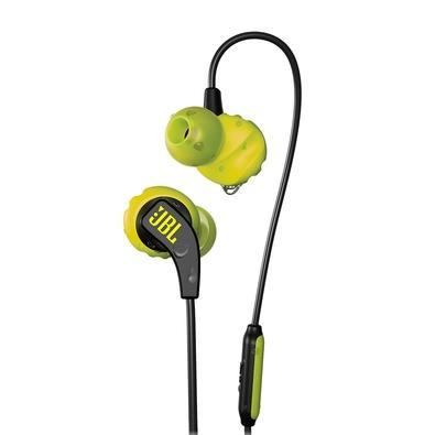 Fone de Ouvido Esportivo JBL Endurance Run, com Microfone, Amarelo - JBLENDURRUNBNL