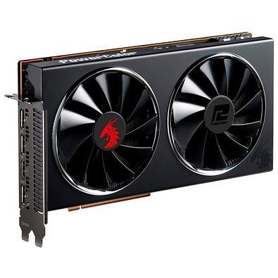 Placa de Vídeo PowerColor AMD Radeon Red Dragon RX5700, 8GB, GDDR6 - AXRX 5700 8GBD6-3DHR/OC
