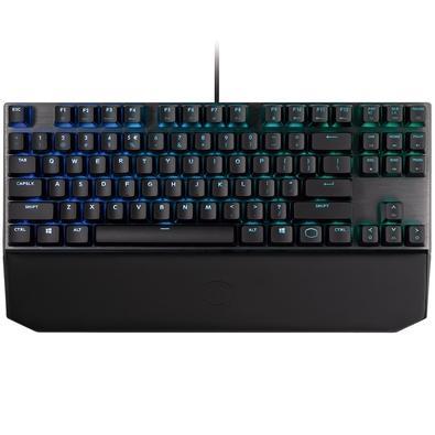 Teclado Mecânico Gamer Cooler Master MK730, RGB, Switch Cherry MX Brown, US - MK-730-GKCM1-US