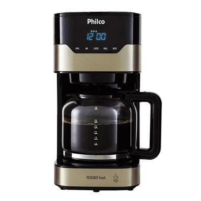 Cafeteira Philco PCFD38CH Touch, 38 Xícaras, 800W, 110V, Inox/Preta - 53901046