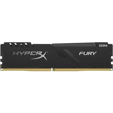 Memória HyperX Fury, 32GB, 2400MHz, DDR4, CL15, Preto - HX424C15FB3/32