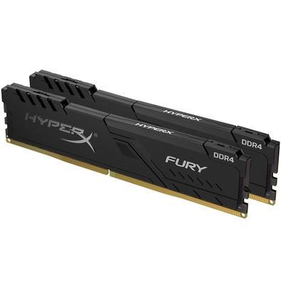 Memória HyperX Fury, 64GB (2x32GB), 3200MHz, DDR4, CL16, Preto - HX432C16FB3K2/64