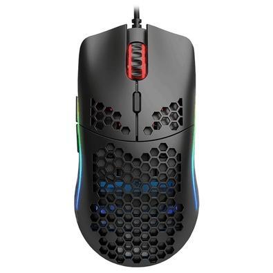 Mouse Gamer Glorious PC Gaming Race Model O- Minus, RGB, 6 Botões, 12000DPI, Preto - GOM-BLACK