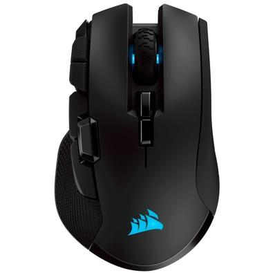 Mouse Gamer Corsair Ironclaw Wireless, RGB, 10 Botões, 180000DPI, Preto - CH-9317011-NA