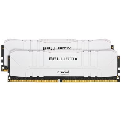 Memória Crucial Ballistix Sport LT, 32GB (2X16), 3600MHz, DDR4, CL16, Branca - BL2K16G36C16U4W