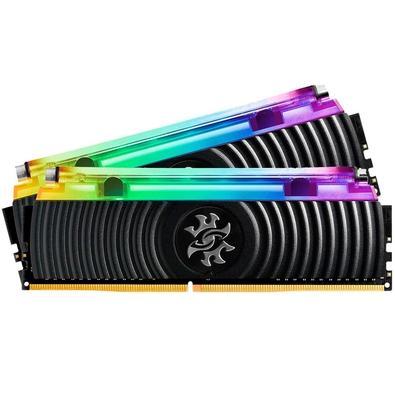 Memória XPG Spectrix D80, RGB, 32GB (2x16GB), 3000MHz, DDR4, CL16 - AX4U3000316G16A-DB80