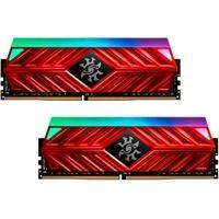 Memória XPG Spectrix D41, RGB, 16GB (2x8GB), 3600MHz, DDR4, CL17, Vermelho - AX4U360038G17-DR41