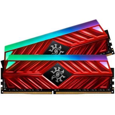 Memória XPG Spectrix D41, RGB, 16GB (2x8GB), 3200MHz, DDR4, CL16, Vermelho - AX4U320038G16A-DR41