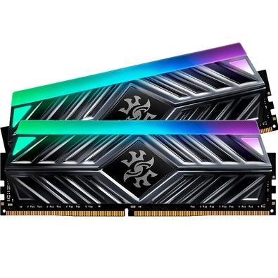 Memória XPG Spectrix D41, RGB, 32GB (2x16GB), 3000MHz, DDR4, CL16, Cinza - AX4U3000316G16-DT41