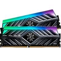 Memória XPG Spectrix D41, RGB, 16GB (2x8GB), 2666MHz, DDR4, CL16, Cinza - AX4U266638G16-DT41