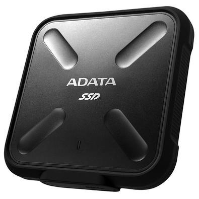 SSD Externo Adata SD700, 256GB, USB 3.2, Preto - ASD700-256GU31-CBK