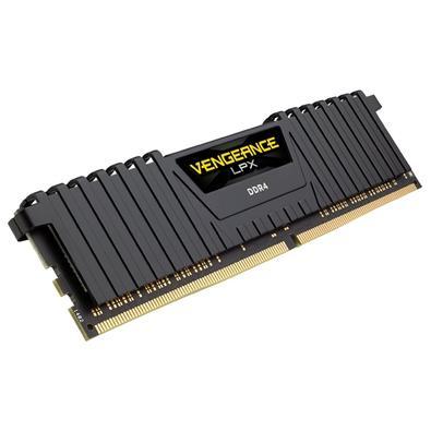 Memória Corsair Vengeance LPX 128GB (4x32GB) 2666Mhz DDR4 C16 Black - CMK128GX4M4A2666C16