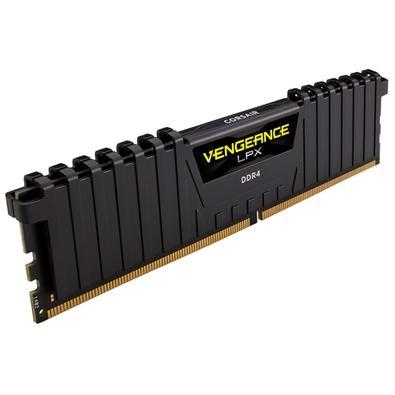 Memória Corsair Vengeance LPX 32GB (4x8GB) 3600Mhz DDR4 C18 Black - CMK32GX4M4D3600C18