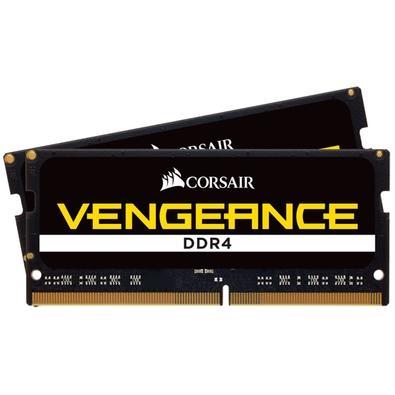 Memória Corsair Vengeance Para Notebook 16GB (2x8GB) 3000Mhz DDR4 C18 - CMSX16GX4M2A3000C18