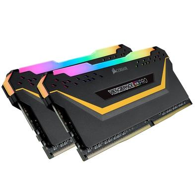 Memória Corsair Vengeance RGB Pro 16GB (2x8GB) 3200MHz DDR4 C16 TUF Black - CMW16GX4M2C3200C16-TUF