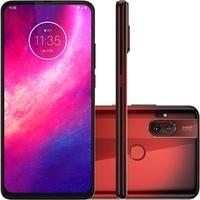 Smartphone Motorola One Hyper, 128GB, 64MP, Tela 6.5´, Vermelho Âmbar + Capa Protetora - XT2027