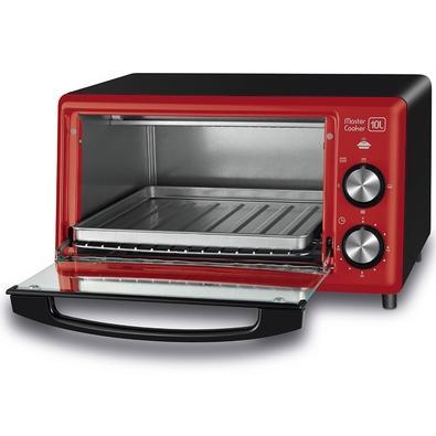 Forno Elétrico Mondial Master Cooker, 10 Litros, 220V, Vermelho - FR-20