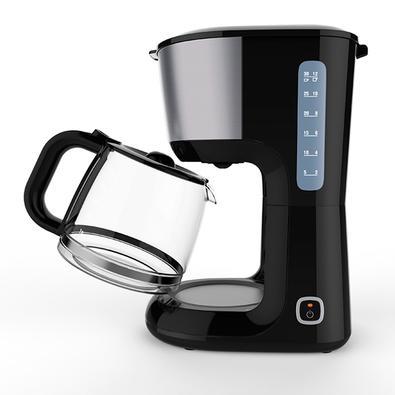 Cafeteira Elétrica Electrolux Love Your Day, 30 Xícaras, 220V, Preto/Inox - 900920847
