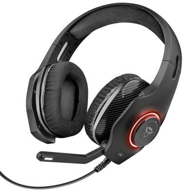 Headset Gamer Trust GXT 455 Torus, RGB, Drivers 50mm - 23138