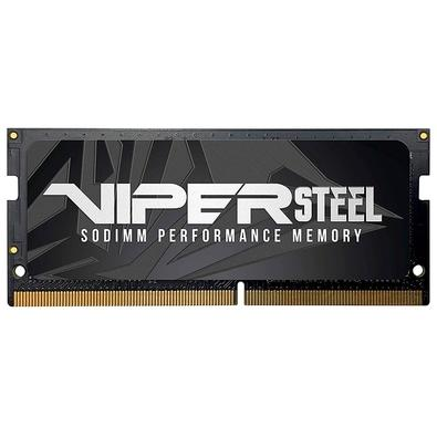 Memória Patriot Viper Steel 8GB (1x8GB), 2666MHz, DDR4, p/ Notebook, CL18 - PVS48G266C8S