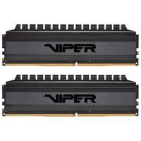 Memória Patriot Viper 4 Blackout 8GB (2x4GB), 3000MHz, DDR4, CL16 - PVB48G300C6K